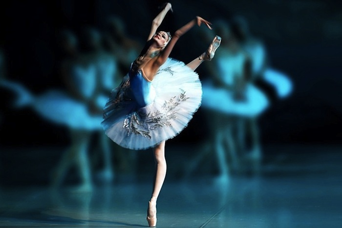 Swan lake 3D Mariinsky Theater Saint-Petersburg
