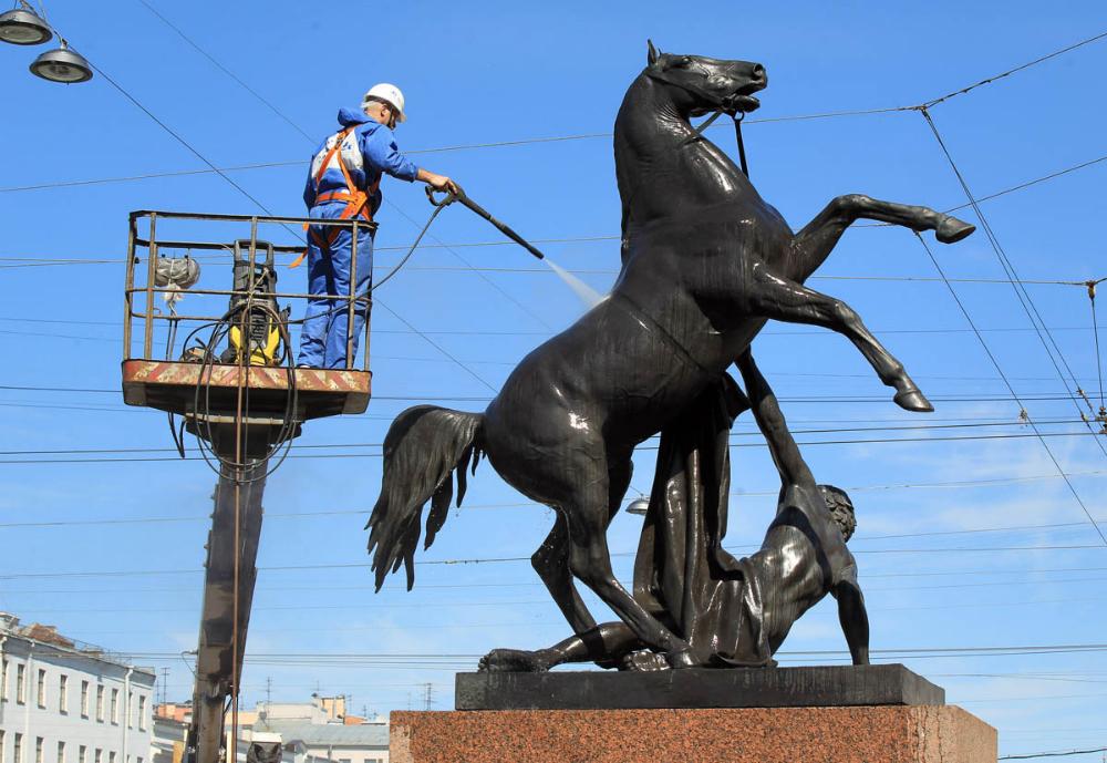 фото кони клодта