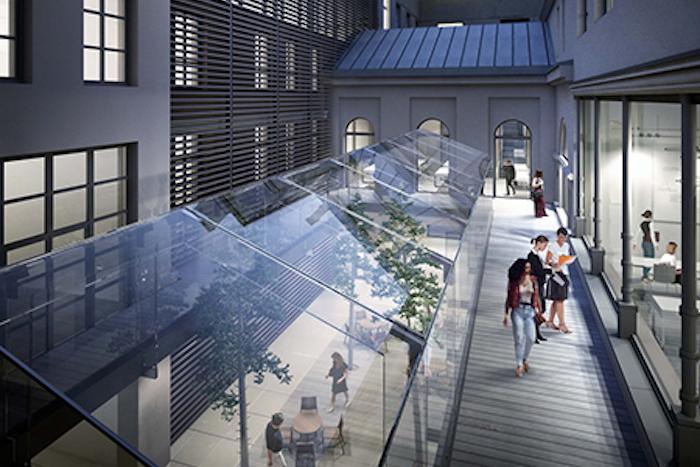 Стеклянная крыша и исторический фасад: выбран проект реконструкции ЕУ