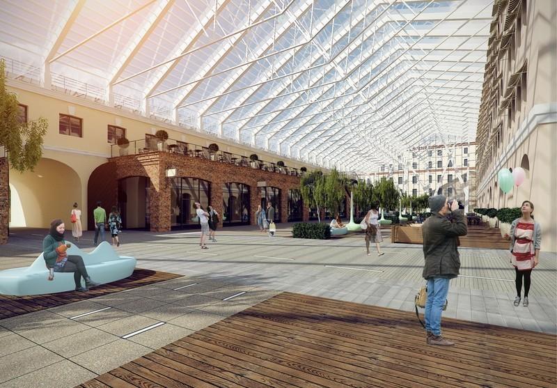 Проект универмага от «Архитектурной мастерской Литвинова»
