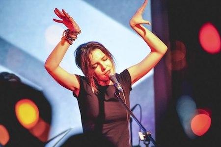 Концерт Tinavie в клубе da:da