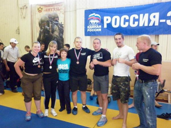 На фото: справа от Царенко — Алексей Лакост Мартынов, за ним Андрей Арни Рахов