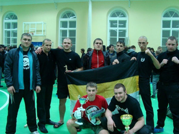 На фото: крайний слева — Дмитрий Жигалов