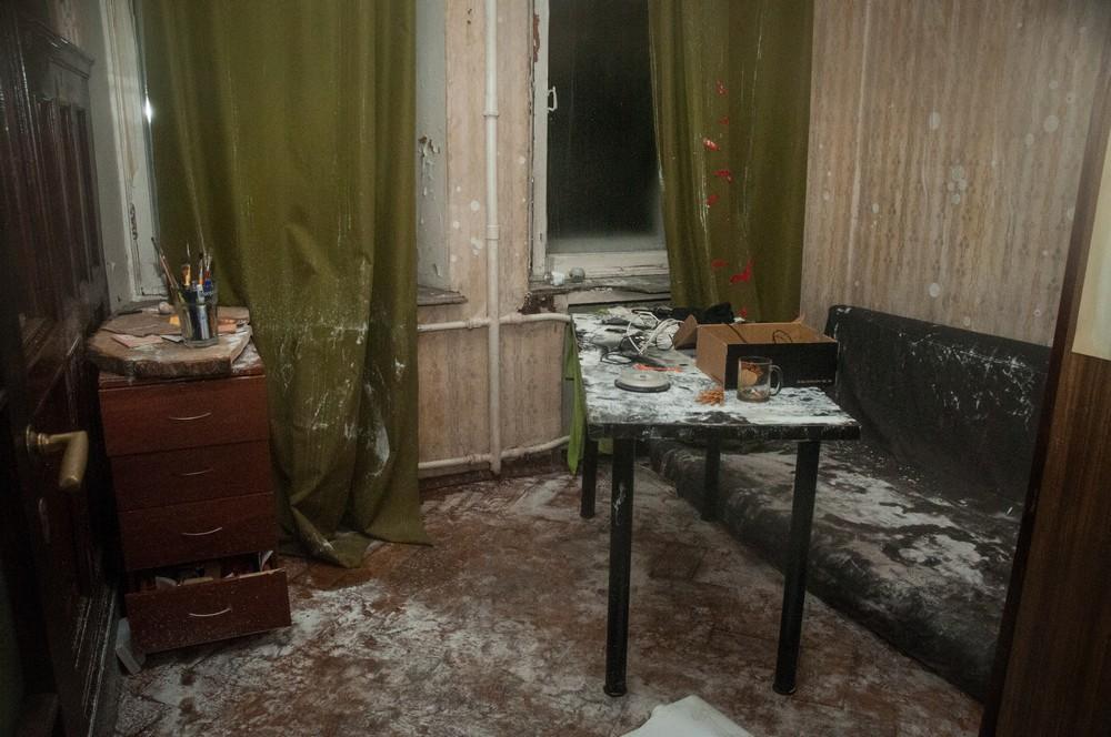 Комната Оксаны Даниловой. Автор фотографий к этому материалу также жил в доме на Греческом проспекте, 12
