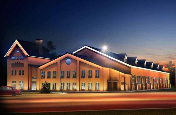 Проект здания дачи Бенуа после окончания работ
