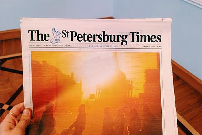 Бывший главред The St. Petersburg Times — о том, как газета стала центром иностранного сообщества