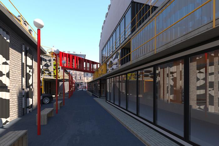 Авторы проекта «Улица Контейнерная» — о новой пешеходной улице Петербурга