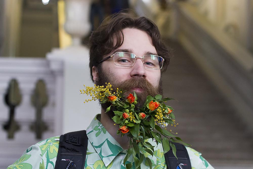 10 мужских портретов с цветущими бородами на экологическом фестивале