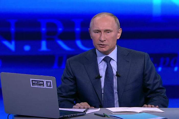 Прямая линия с Владимиром Путиным  Президент России