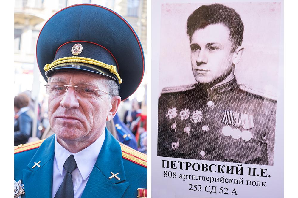 Валентин Петровский, 65 лет. Портрет отца