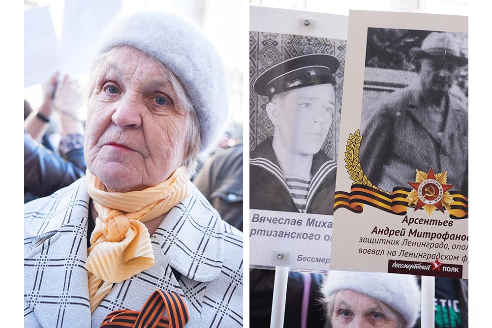 Галина Сысоева, 75 лет. Старший брат, крестный отец