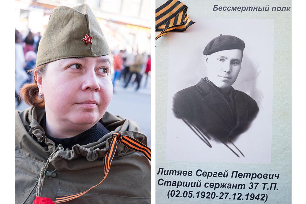 Лариса Мищенко, 38 лет. Двоюродный дед