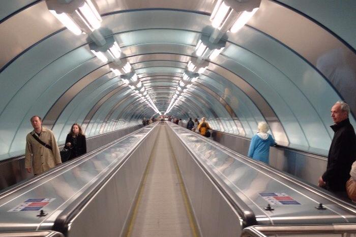 Как выглядит новый вестибюль станции метро «Спортивная»: 12фотографий после открытия