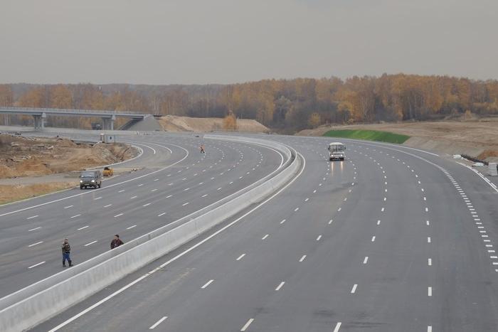 Стоимость проезда по трассе Москва — Петербург составит рубль за километр