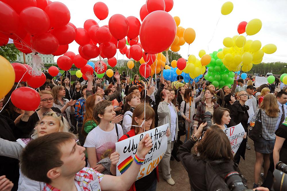 Городские власти не согласовали массовую ЛГБТ-акцию на Марсовом поле