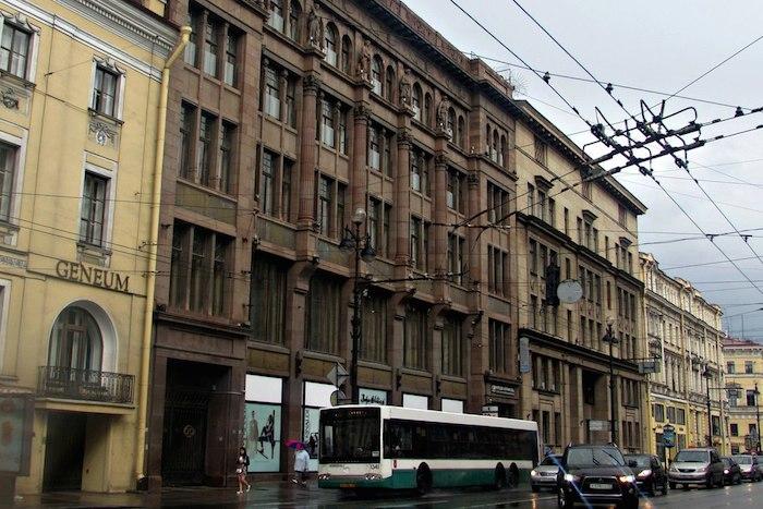 Здание на Невском, 12 сегодня. Фото: Вероника Прохорова