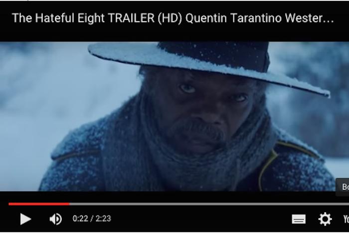 Смотрите первый трейлер нового проекта Квентина Тарантино «Отвратительная восьмерка»