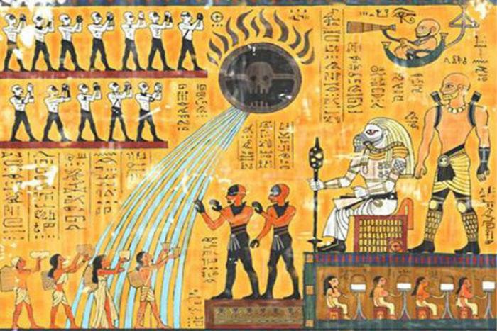 Сюжет «Безумного Макса: Дорога ярости» пересказали при помощи египетских иероглифов