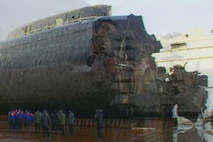 где была построена подводная лодка курск
