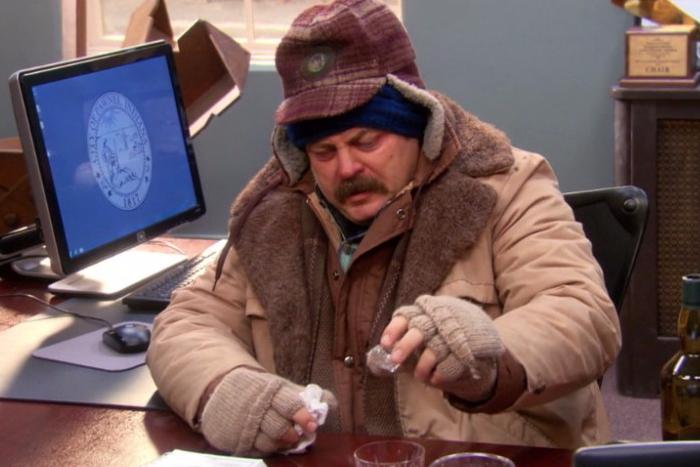 Как работать в офисе во время простуды?
