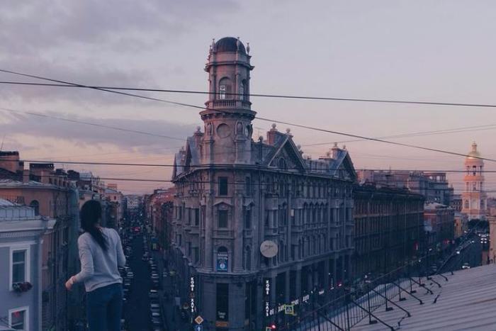 Самые петербургские места вInstagram: что фотографируют накрыше и вбашенке на Пяти углах