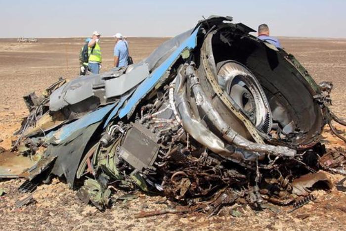 «Коммерсантъ» написал о трех версиях разрушения российского самолета в небе над Синаем