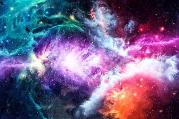 Интерактивная карта Вселенной: отобозримого космоса до самой маленькой величины