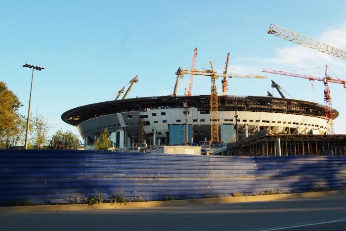 Петербургские власти выделят дополнительные деньги на строительство «Зенит-Арены»