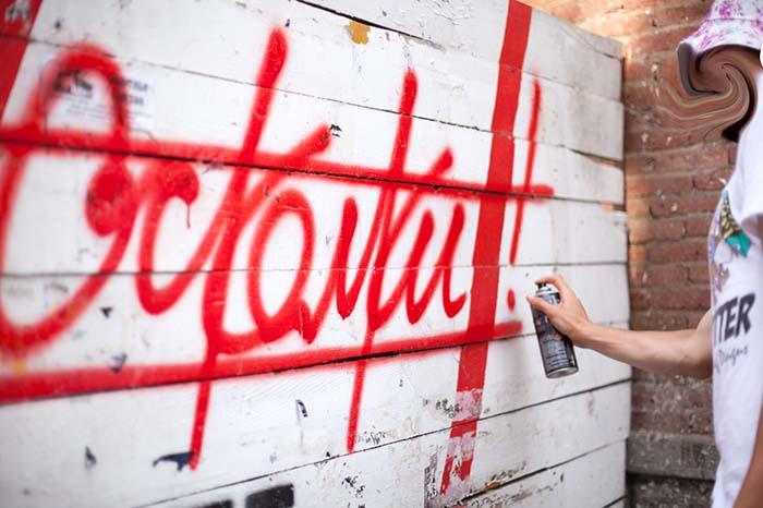 Кто такие «Осколки» и какие граффити они рисуют в Петербурге