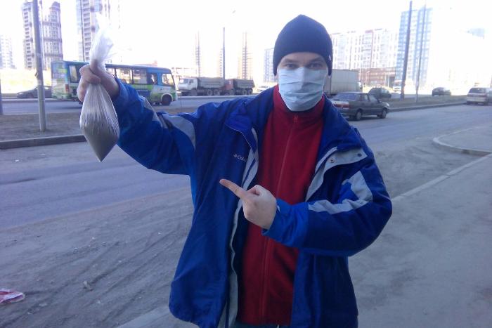 Активисты выяснили, что количество пыли на проезжей части в 14 раз превышает норму