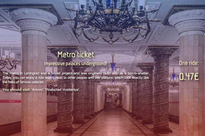 Программист из Петербурга создал сайт с ценами на городские развлечения в разных валютах