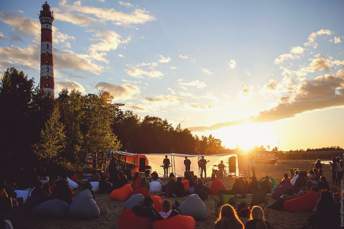 На берегу Ладожского озера пройдут концерты российских инди-музыкантов