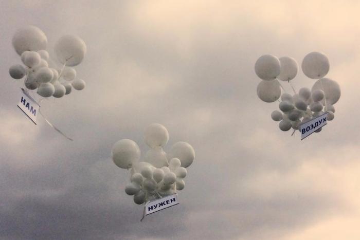 Петербургские журналисты провели акцию против цензуры