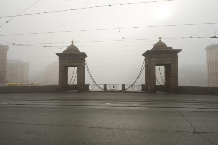 Неделя в Петербурге закончится дождем, туманом и грозой