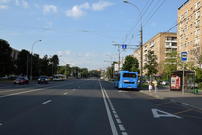 В Петербурге появятся четыре новые выделенные полосы для общественного транспорта