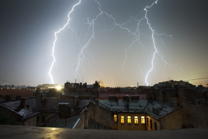 Лето 2016 года признали самым дождливым в истории Петербурга