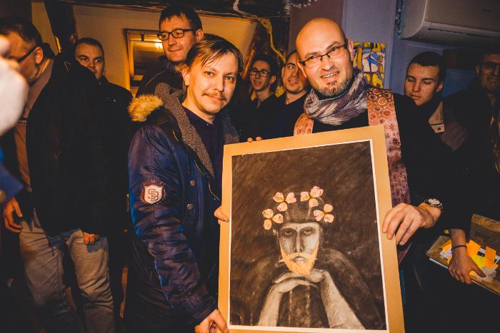 Петербургские авангардисты проведут аукцион «Искусство за бухло»