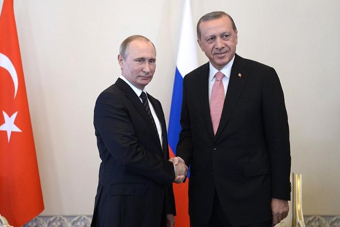 Эрдоган в Петербурге: основные тезисы после первой встречи сПутиным