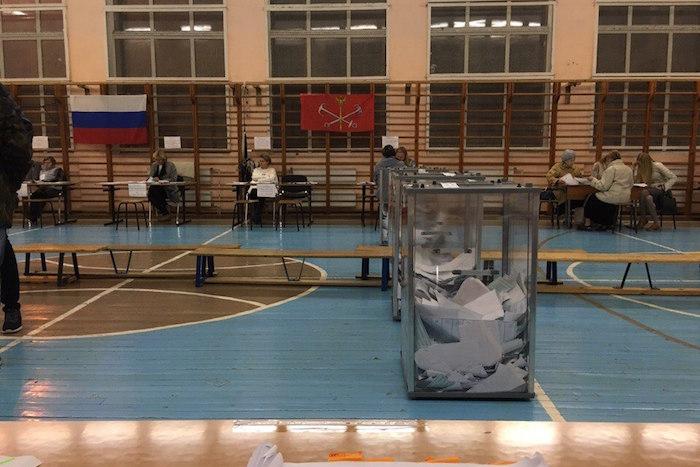 Выборы в Госдуму и Закс в Петербурге окончены