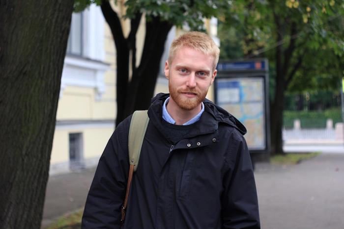 Швед Моррис Викстрём — оСадовой улице, маршрутках и о том, как после переезда снова начал есть мясо