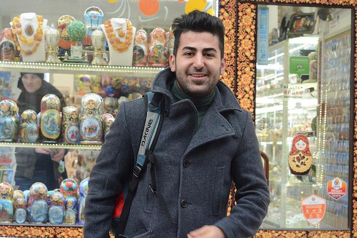 Иракец Аймен Салман — о самых вкусных суши, очень вежливых водителях и множестве развлечений