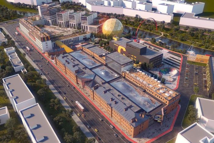 В декабре на Красногвардейской площади откроется пространство Artplay SPb