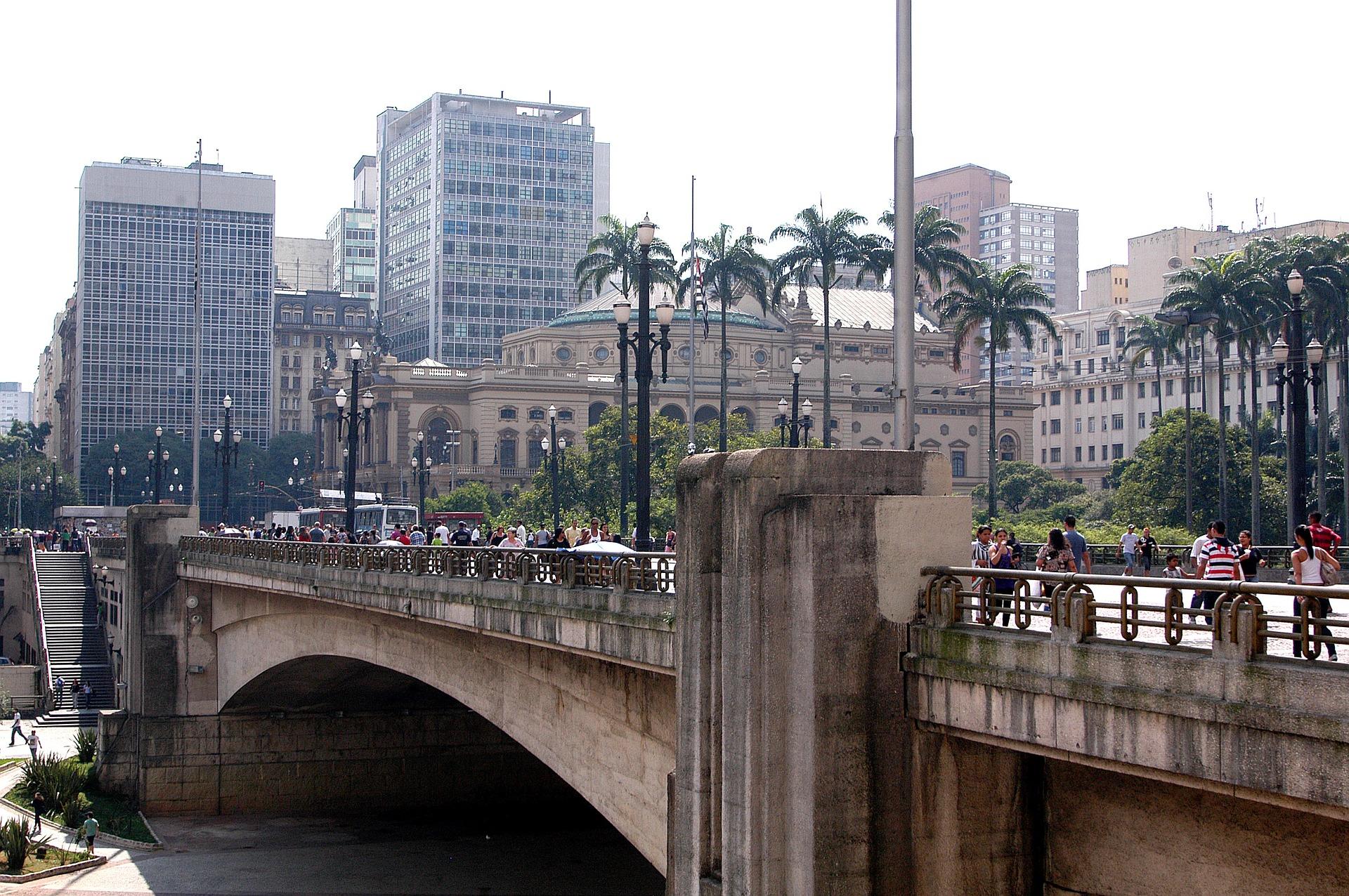 Обои sao paulo, мосты, Бразилия. Города foto 19