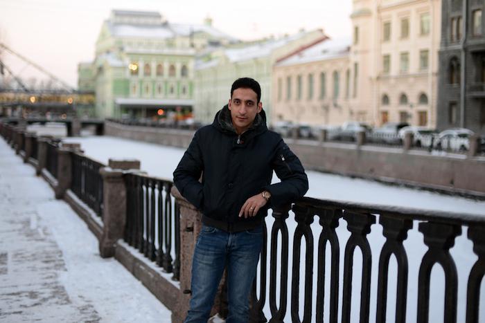 Итальянец Руди Молино — о жизни сегодняшним днем, римских чертах Московского проспекта и русских супах