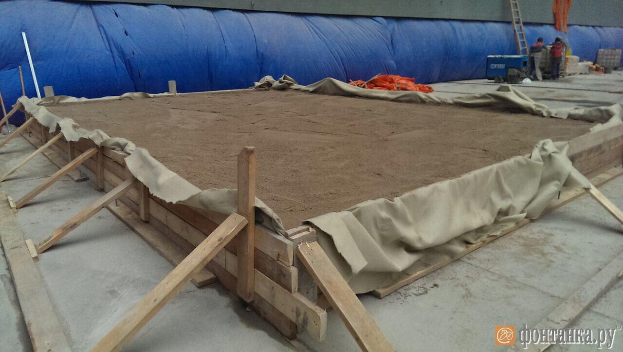 На «Крестовском» установили полигон для расчета вибрационных нагрузок