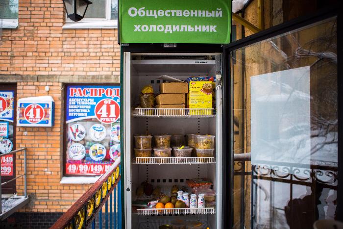 Почему провалилась попытка запустить холодильник с бесплатной едой: объясняют активисты и юристы