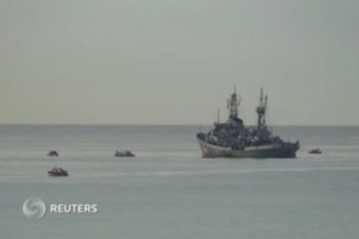 Спасатели обнаружили один из «черных ящиков» самолета Ту-154