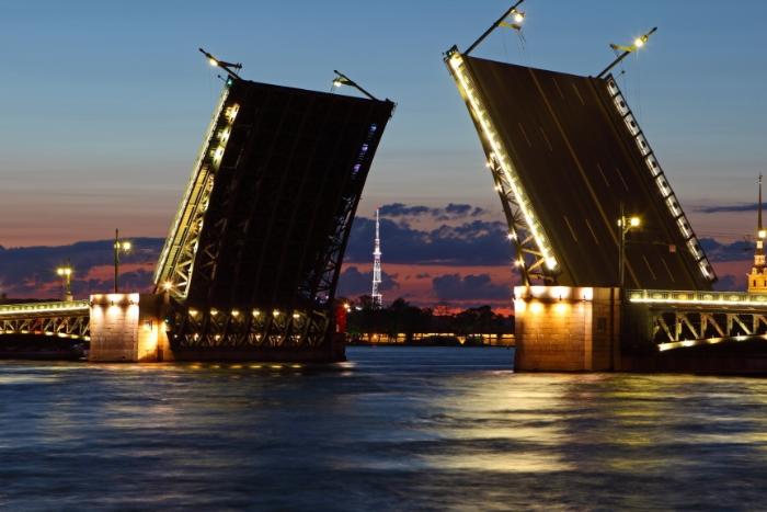 В Смольном поддержали идею Милонова устроить новогоднее шоу с разводкой мостов