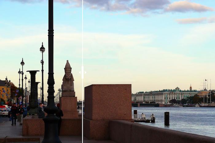 Как выглядел бы Петербург безскульптур сфинксов, львов иконей. Пять интерактивных коллажей