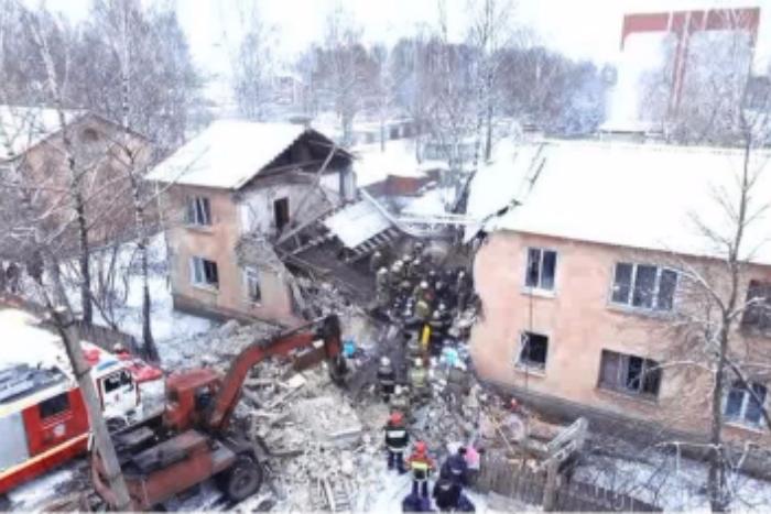 ВЛенинградской области возбудили дело после взрыва газа вжилом доме